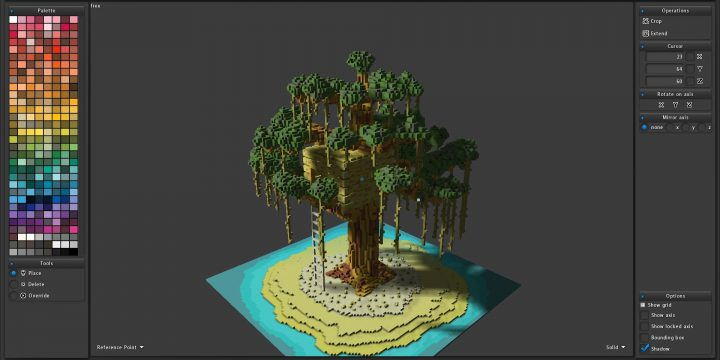 Some Of The Best Voxel Editors